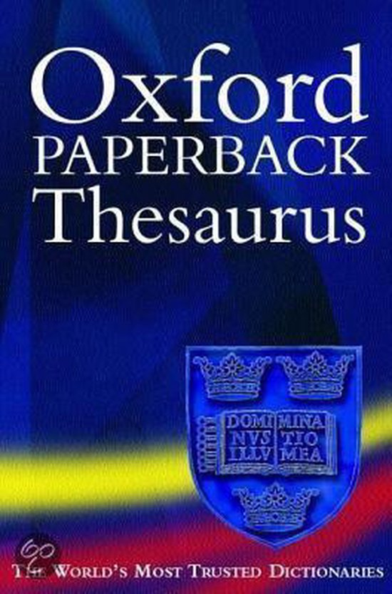 9780198603719-Oxford-Paperback-Thesaurus