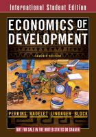 Economics of Development ISE 7e