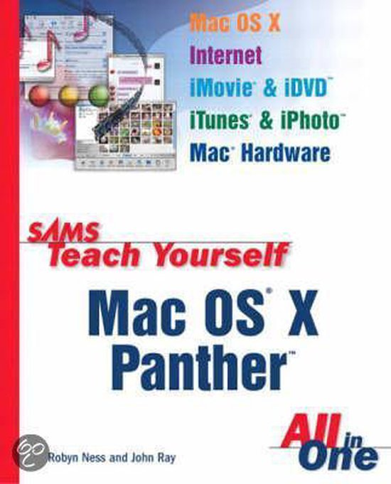 9780672326035-Sams-Teach-Yourself-Mac-Os-X-Panther-All-In-One
