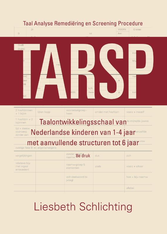 TARSP - Taal Analyse Remedi�ring en Screening Procedure