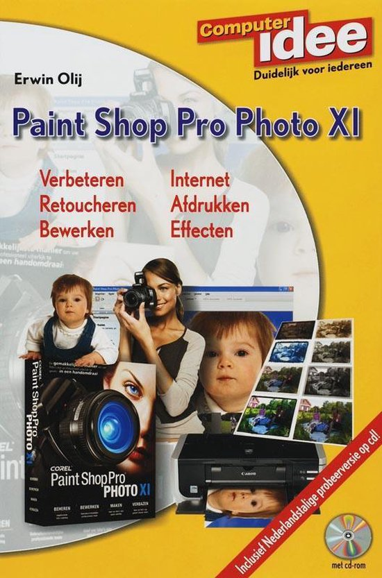 Computer Idee Paint Shop Pro XI + CD-ROM